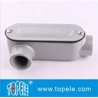 1 Inch Aluminum LR Type IP65 Threaded EMT / Rigid Conduit Body With Cover Manufactures