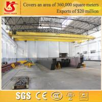 China 5-50t customizable load double girder euro style overhead traveling crane on sale