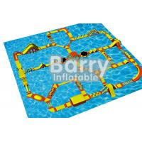 Large Size Sea Inflatable Water Obstacle Course Construction EN71 Certification Manufactures