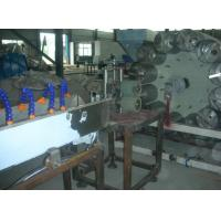 Buy cheap PVC Fiber Reinforced Soft Pipe Production Line , PVC Soft Plastic Hose Pipe Extrusion Line Process Machinery from wholesalers