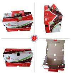 Custom Packaging Cardboard Boxes , Waterproof Corrugated Storage Boxes