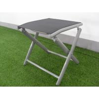 X - Shaped Adjustable Aluminum Folding Footrest Leisure Folding Chair Light Weight Manufactures