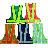 reflective safety vest coat Sanitation vest Traffic safety warning clothing vest Manufactures