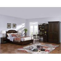American Leisure Antique Design Single bedroom furniture Small bed with writing Desk and Bookcase and 2 door wardrobe Manufactures
