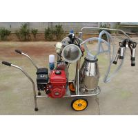 China XD32Q Vacuum Pump gasoline-engine driven and electric motor-driven mobile milking machine on sale