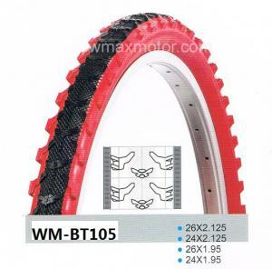 mountain bike tire/MTB tire 24X1.95 color black Manufactures