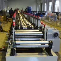 1.2 - 2.0mm Galvanized Steel Racking Beam Cold Roll Forming Machine 20 Roller Stations Manufactures