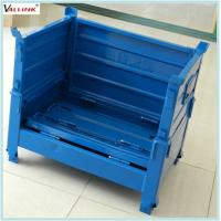 Buy cheap Custom Unfolding Cage Pallet ISO Wire Mesh Storage Containers from wholesalers