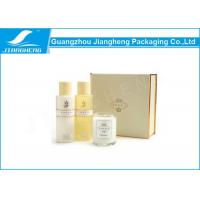 Cardboard Luxury Printed Paper Cosmetics Gift Boxes With Plastic Tray SGS Manufactures
