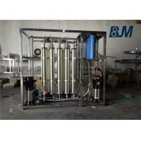 1 Ton Per Hour One Stage RO Water Purifying Equipment For Drinking Water Manufactures