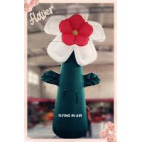3m Oxford Cloth Multicolor Inflatable Flower for Event and Stage Decoration