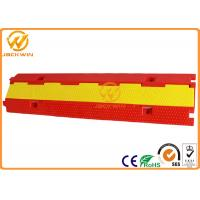 Light Duty Plastic PVC 2 Channel Cable Protector 10 Ton Weight Capacity Manufactures