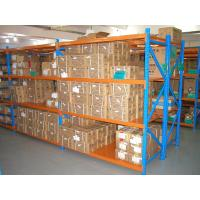 China powder coating finished cold rolled steel storage racking system for warehouse on sale