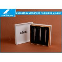 Hot Stamping Logo Perfume Packaging Boxes With 3 Bottles Display Padding Manufactures