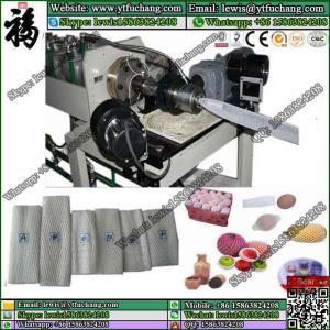 China Hardware Tool Packaging Fruit Foam Net making machinery LDPE polyethylene foaming Net Extruder on sale