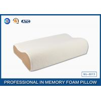 China High Density Slow Recovery Cervical Memory Foam Contour Pillow With Soft Cover wholesale