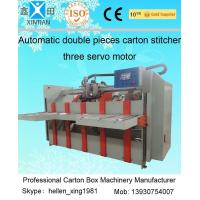 0 - 60 Pieces / Min Two Pieces Carton Stapler Fit for Small / Medium Size Carton Manufactures