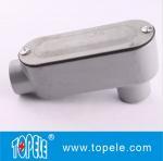 Power Coated Rigid Aluminum Conduit Body LB style Manufactures