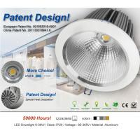 China Aluminum / Glass Dust-proof Commercial Lighting Fixture 6W - 42W Downlight on sale