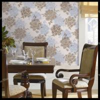 country flowers design pvc wallpaper bedroom decorative vinyl wallpaper Manufactures