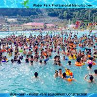 6000 Sqm Big High Hurricane Wave Pool Vacuum Machine For Water Park Equipment Manufactures