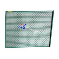 Buy cheap 1150*915mm Soft Shale Shaker Basket Reinforced Screen With Metal from wholesalers