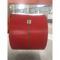 China Galvalume Steel Sheet Prepainted Steel Coil Red Color For Corrugated Tile on sale