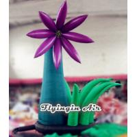 China Simple Outdoor Inflatable Flower with Blower for Wedding and Party Supplies wholesale