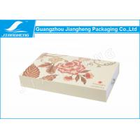 EM Drawer Gift Boxes / Cosmetic Packaging Boxes LOGO Printing Matte Surface Manufactures