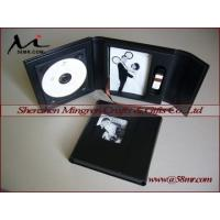 Leather DVD CD Photo Album with USB Box Manufactures