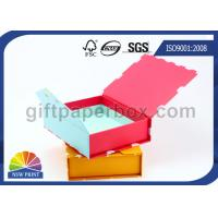 Customized Magnetic Closure Cardboard Gift Boxes / Foldable Paper Box for Perfume or Cosmetic