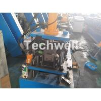 China Hydraulic Cutting Galvanized Steel Sheet C Purlin Roll Forming Machine With Power Supply 380V on sale