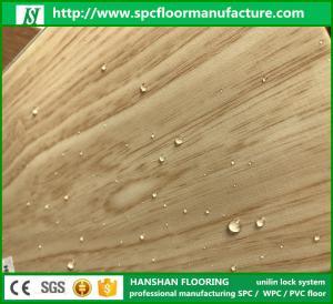 Plastic Vinyl Flooring quick install style pvc spc interlock planks floor sheets Manufactures