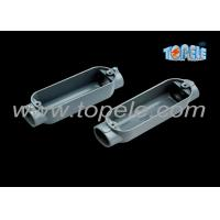 China C Threaded Aluminum Rigid Conduit Body With Outlet Box Corrosion Resistant wholesale