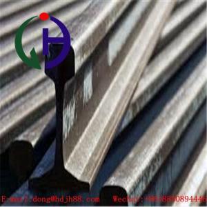 China Railroad Track Steel / Railway Rail Material AISI ASTM DIN GB Standard wholesale