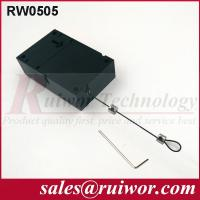 Retail Stores Display Cell Phone Anti Theft Cable With Adjustable Loop End