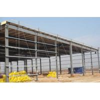 Prefab Steel Workshop Buildings Heat Resistance Prepainted With Single Layer Floors Manufactures