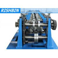 China C / Z / U Purlin Roll Forming Machine 20 Stations for Structural Steel Fabrication on sale