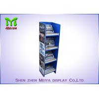 Buy cheap Customized Pop Up Cardboard Floor Display Stands Environment Friendly from wholesalers