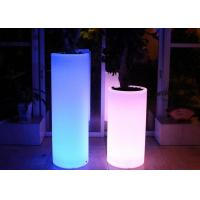 China Decoration Home Garden Wedding Illuminated LED Light Colour Changing Plant Pots on sale