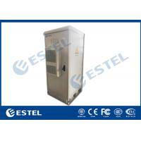 "China 19"" 40U IP55 Outdoor Telecom Enclosure, with Air Conditioner, EMS and PDU wholesale"