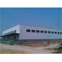 China steel construction company China made light steel structure factory on sale