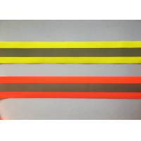 China 100% Polyester High Visibility Silver reflective tapes for Safety Vests / clothing on sale