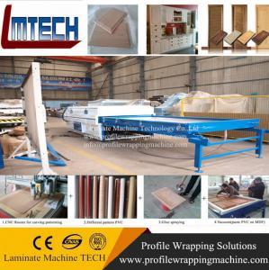 pvc vacuum membrane press machine Manufactures