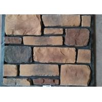 Classical Style Wateproof Faux Exterior Stone , Faux Veneer Stone Panels For Home Building Manufactures