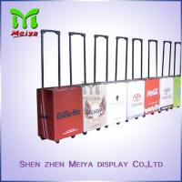 Offset Printing Foldable Travel Cardboard Luggage Box For Trade Show And Promotion Manufactures