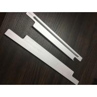 China 6061 T6 Aluminium Extrusion Profiles CNC Milling Matt Silver Anodized for Solar Bracket on sale