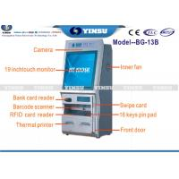 China Coupon Cash Recycling Machine / Ticket Dispenser Kiosk Wireless A4 Printer on sale