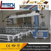 China window frame surface wrapping pvc film Profile wrapping machine on sale