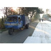 China Paving Polyester Spunbond geotextile fabric driveway for reduce reflective cracking on sale